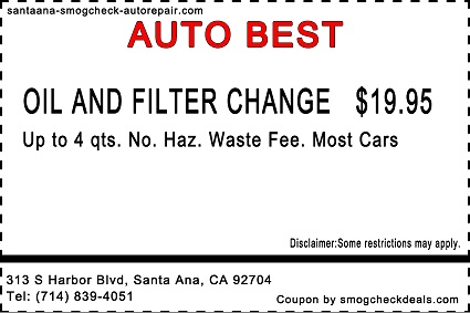 santa-ana-Oil-Change-Coupon